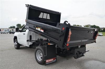 2019 Silverado 3500 Regular Cab DRW 4x4,  Reading Marauder SL Dump Body #C90067 - photo 14