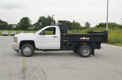 2019 Silverado 3500 Regular Cab DRW 4x4,  Reading Marauder SL Dump Body #C90067 - photo 3