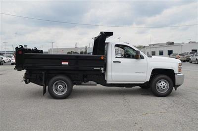 2019 Silverado 3500 Regular Cab DRW 4x4,  Reading Marauder SL Dump Body #C90067 - photo 6