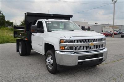 2019 Silverado 3500 Regular Cab DRW 4x4,  Reading Marauder SL Dump Body #C90067 - photo 7