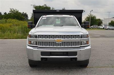 2019 Silverado 3500 Regular Cab DRW 4x4,  Reading Marauder SL Dump Body #C90067 - photo 8