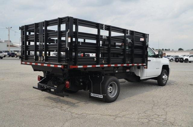 2019 Silverado 3500 Regular Cab DRW 4x4,  Morgan Stake Bed #C90093 - photo 5