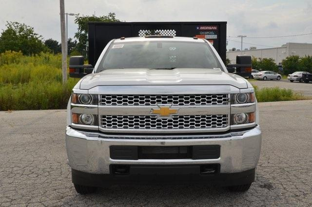 2019 Silverado 3500 Regular Cab DRW 4x4,  Morgan Stake Bed #C90093 - photo 8