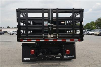 2019 Silverado 3500 Regular Cab DRW 4x4,  Morgan Stake Bed #C90093 - photo 4