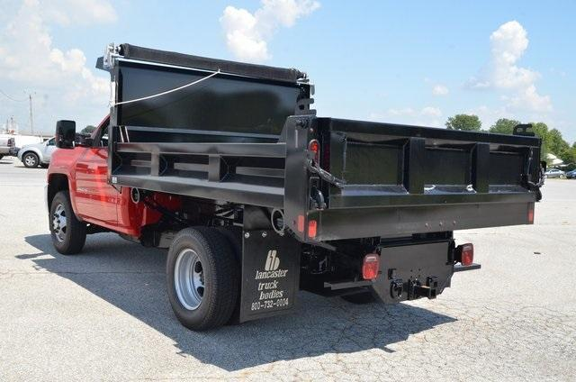 2019 Silverado 3500 Regular Cab DRW 4x4,  Galion 103U Dump Body #C90114 - photo 2