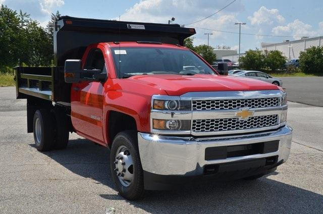 2019 Silverado 3500 Regular Cab DRW 4x4,  Galion 103U Dump Body #C90114 - photo 7
