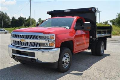 2019 Silverado 3500 Regular Cab DRW 4x4,  Galion 103U Dump Body #C90114 - photo 1