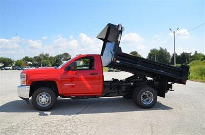 2019 Silverado 3500 Regular Cab DRW 4x4,  Galion 103U Dump Body #C90114 - photo 14