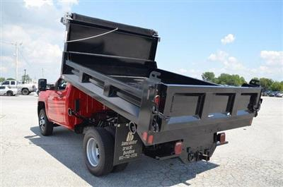 2019 Silverado 3500 Regular Cab DRW 4x4,  Galion 103U Dump Body #C90114 - photo 15