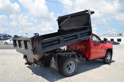 2019 Silverado 3500 Regular Cab DRW 4x4,  Galion 103U Dump Body #C90114 - photo 16