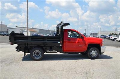 2019 Silverado 3500 Regular Cab DRW 4x4,  Galion 103U Dump Body #C90114 - photo 6