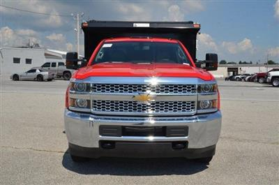 2019 Silverado 3500 Regular Cab DRW 4x4,  Galion 103U Dump Body #C90114 - photo 8