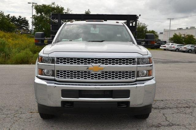 2019 Silverado 3500 Regular Cab DRW 4x4,  Knapheide Value-Master X Stake Bed #C90115 - photo 8