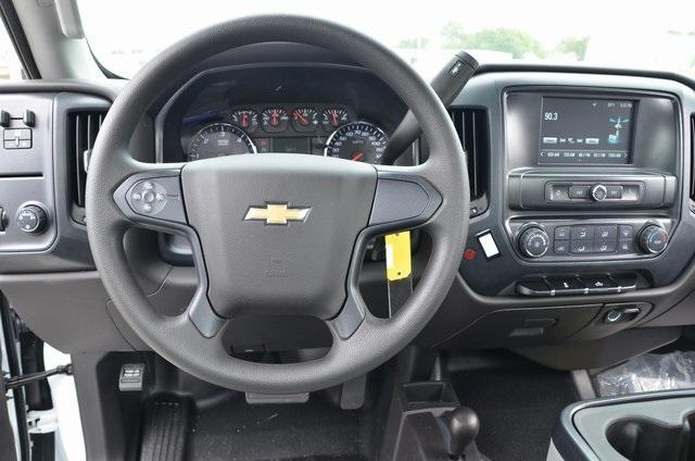 2019 Silverado 3500 Regular Cab DRW 4x4,  Knapheide Value-Master X Stake Bed #C90115 - photo 9