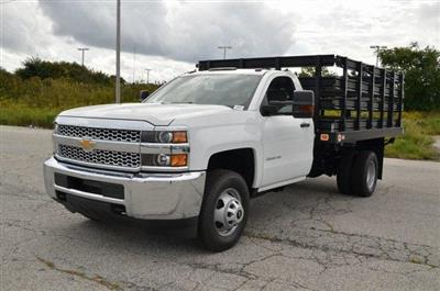 2019 Silverado 3500 Regular Cab DRW 4x4,  Knapheide Value-Master X Stake Bed #C90115 - photo 1