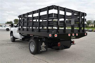 2019 Silverado 3500 Regular Cab DRW 4x4,  Knapheide Value-Master X Stake Bed #C90115 - photo 2