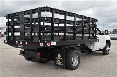 2019 Silverado 3500 Regular Cab DRW 4x4,  Knapheide Value-Master X Stake Bed #C90115 - photo 5