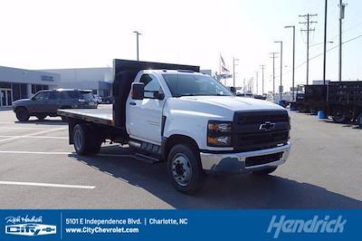 2020 Silverado 4500 Regular Cab DRW 4x2,  PJ's Truck Bodies Platform Body #CL73633 - photo 1