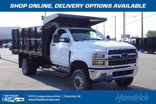 2020 Silverado 4500 Regular Cab DRW 4x4,  PJ's Truck Bodies Landscape Dump #CL91228 - photo 1