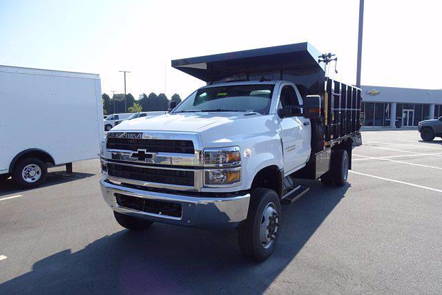 2020 Silverado 4500 Regular Cab DRW 4x4,  PJ's Truck Bodies Landscape Dump #CL91228 - photo 4
