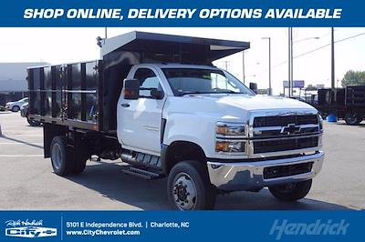 2020 Silverado 4500 Regular Cab DRW 4x4,  PJ's Truck Bodies Landscape Dump #CDL1228 - photo 1