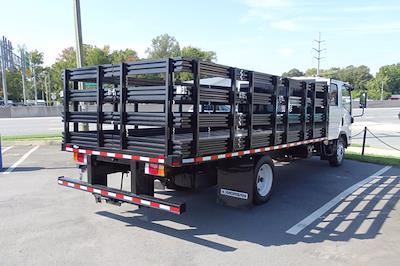 2021 LCF 4500 Crew Cab 4x2,  Morgan Truck Body Prostake Stake Bed #CM00531 - photo 2