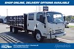 2021 LCF 4500 Crew Cab 4x2,  Morgan Truck Body Prostake Stake Bed #CM00531 - photo 1