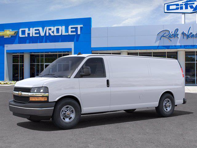2021 Chevrolet Express 3500 4x2, Sortimo Empty Cargo Van #CM0116 - photo 3