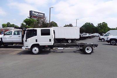 2021 LCF 4500 Crew Cab 4x2,  PJ's Truck Bodies Dovetail Landscape #CM04209 - photo 2