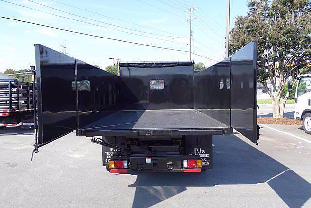 2021 LCF 4500 Regular Cab 4x2,  PJ's Truck Bodies Landscape Dump #CM04724 - photo 9