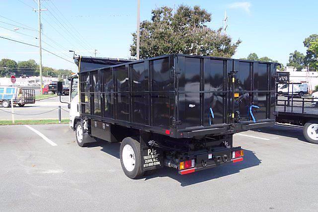 2021 LCF 4500 Regular Cab 4x2,  PJ's Truck Bodies Landscape Dump #CM04724 - photo 2
