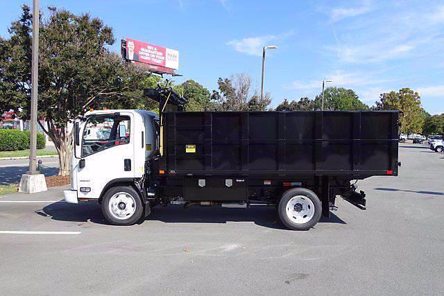 2021 LCF 4500 Regular Cab 4x2,  PJ's Truck Bodies Landscape Dump #CM04724 - photo 4