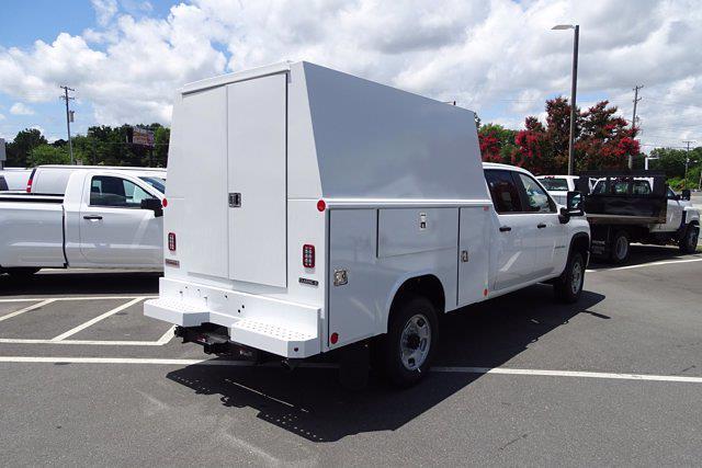 2021 Chevrolet Silverado 2500 Crew Cab 4x2, Reading Panel Service Body #CM16522 - photo 2