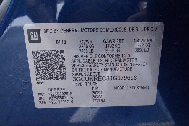 2018 Silverado 1500 Crew Cab 4x4,  Pickup #CM18437A - photo 43