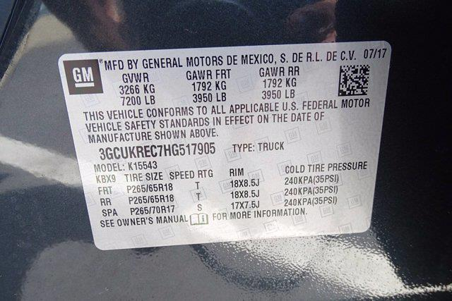 2017 Chevrolet Silverado 1500 Crew Cab 4x4, Pickup #CM30493B - photo 42