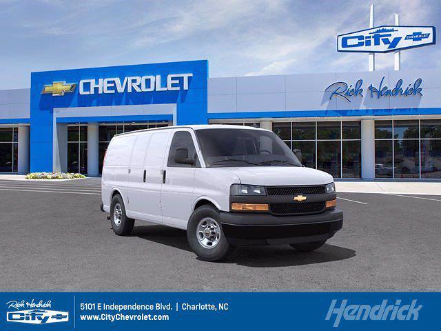2021 Chevrolet Express 2500 4x2, Empty Cargo Van #CM34278 - photo 1