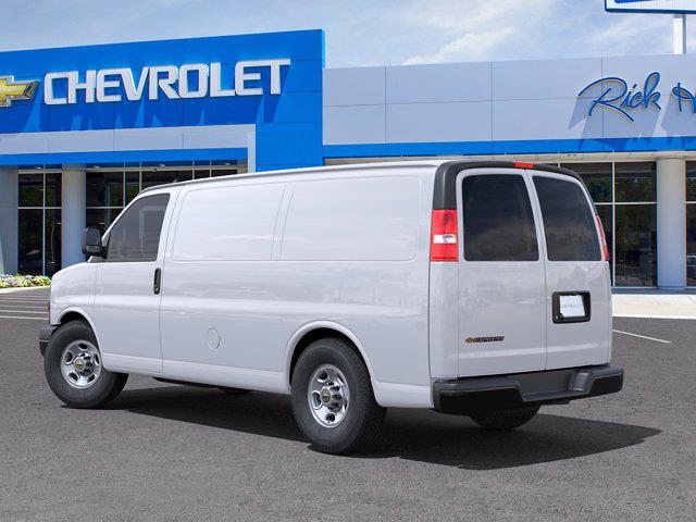 2021 Chevrolet Express 2500 4x2, Empty Cargo Van #CM37759 - photo 4