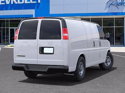 2021 Chevrolet Express 2500 4x2, Empty Cargo Van #CM38065 - photo 2