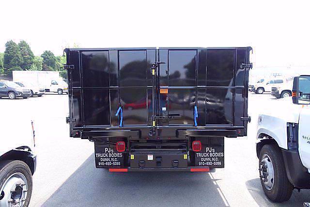 2021 Silverado 5500 Regular Cab DRW 4x2,  PJ's Truck Bodies Landscape Dump #CM48840 - photo 4