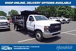 2021 Silverado 5500 Regular Cab DRW 4x2,  PJ's Truck Bodies Landscape Dump #CM48840 - photo 1