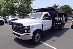 2021 Silverado 5500 Regular Cab DRW 4x2,  PJ's Truck Bodies Landscape Dump #CM48840 - photo 2