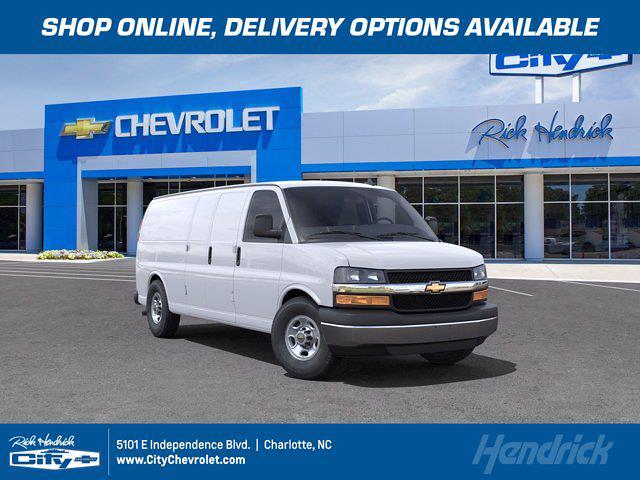 2021 Chevrolet Express 3500 4x2, Sortimo Empty Cargo Van #CM50616 - photo 1