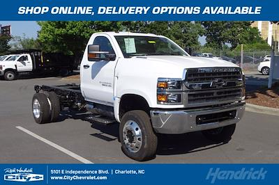 2021 Chevrolet Silverado 6500 Regular Cab DRW 4x4, Cab Chassis #CM50726 - photo 1