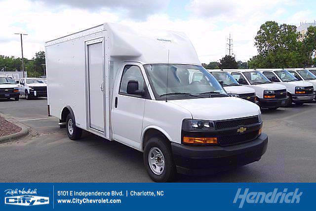 2021 Chevrolet Express 3500 4x2, Rockport Cargoport Cutaway Van #CM50806 - photo 1