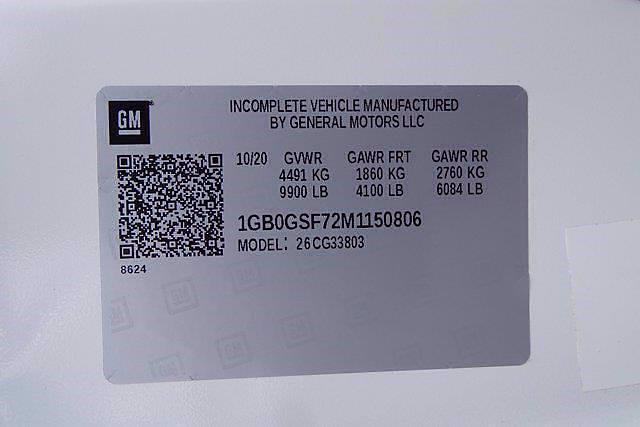 2021 Chevrolet Express 3500 4x2, Rockport Cargoport Cutaway Van #CM50806 - photo 25