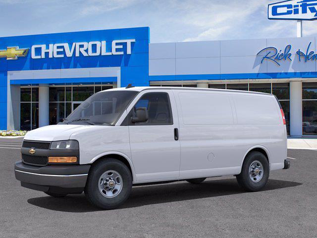 2021 Chevrolet Express 2500 4x2, Knapheide KVE Upfitted Cargo Van #FM50911 - photo 3