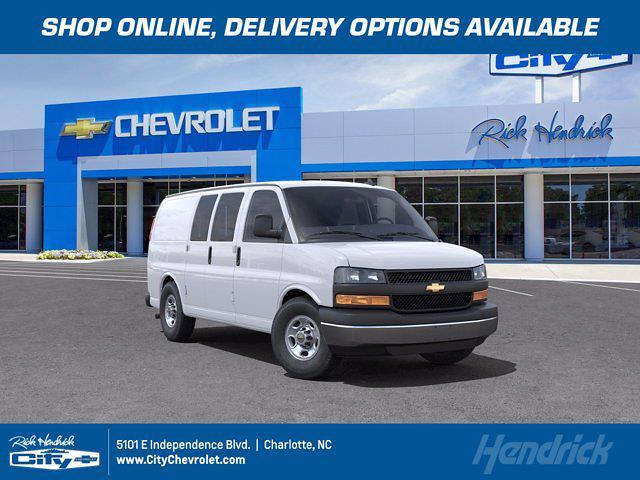 2021 Chevrolet Express 2500 4x2, Knapheide Upfitted Cargo Van #CM50938 - photo 1