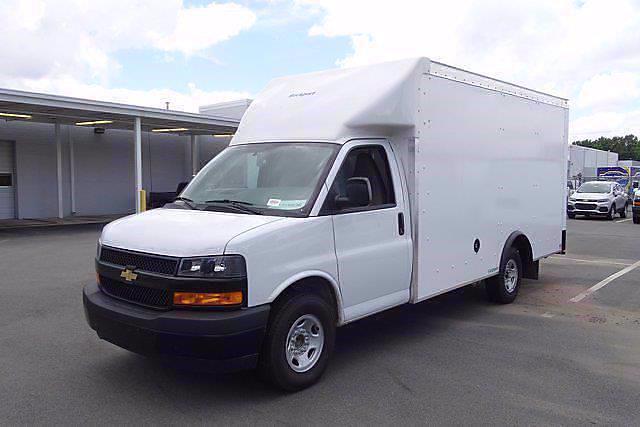2021 Chevrolet Express 3500 4x2, Rockport Cargoport Cutaway Van #CM51302 - photo 3