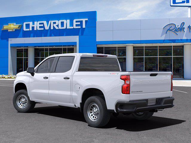 2021 Chevrolet Silverado 1500 Crew Cab 4x4, Pickup #CM51541 - photo 4