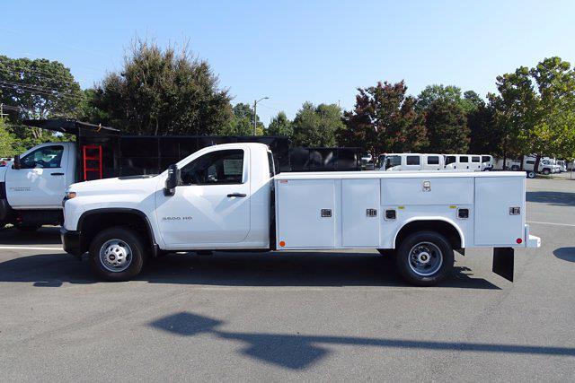 2021 Silverado 3500 Regular Cab AWD,  Reading Classic II Steel Service Body #CM53884 - photo 4